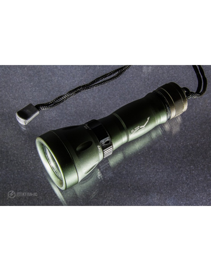 Flashlight for diving DIVING CREE T6 - LT005