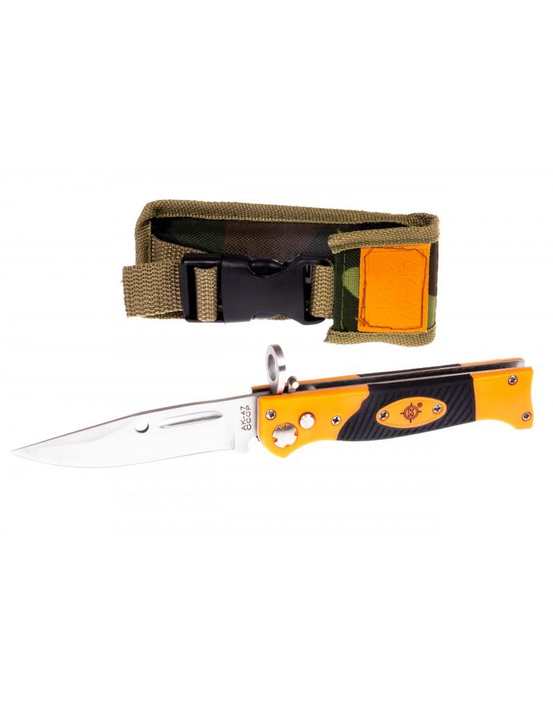 Hunting tourist folding knife AK-47 CCCP - NP106