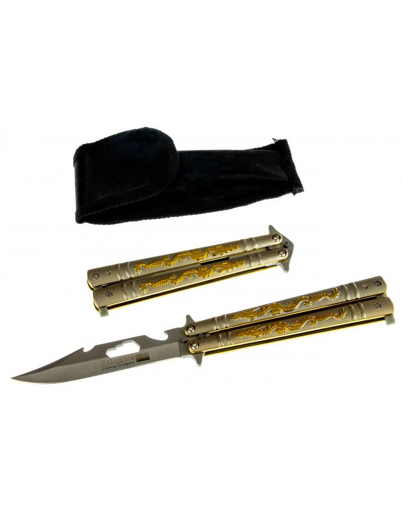Tourist hunting folding knife Columbia - NS128
