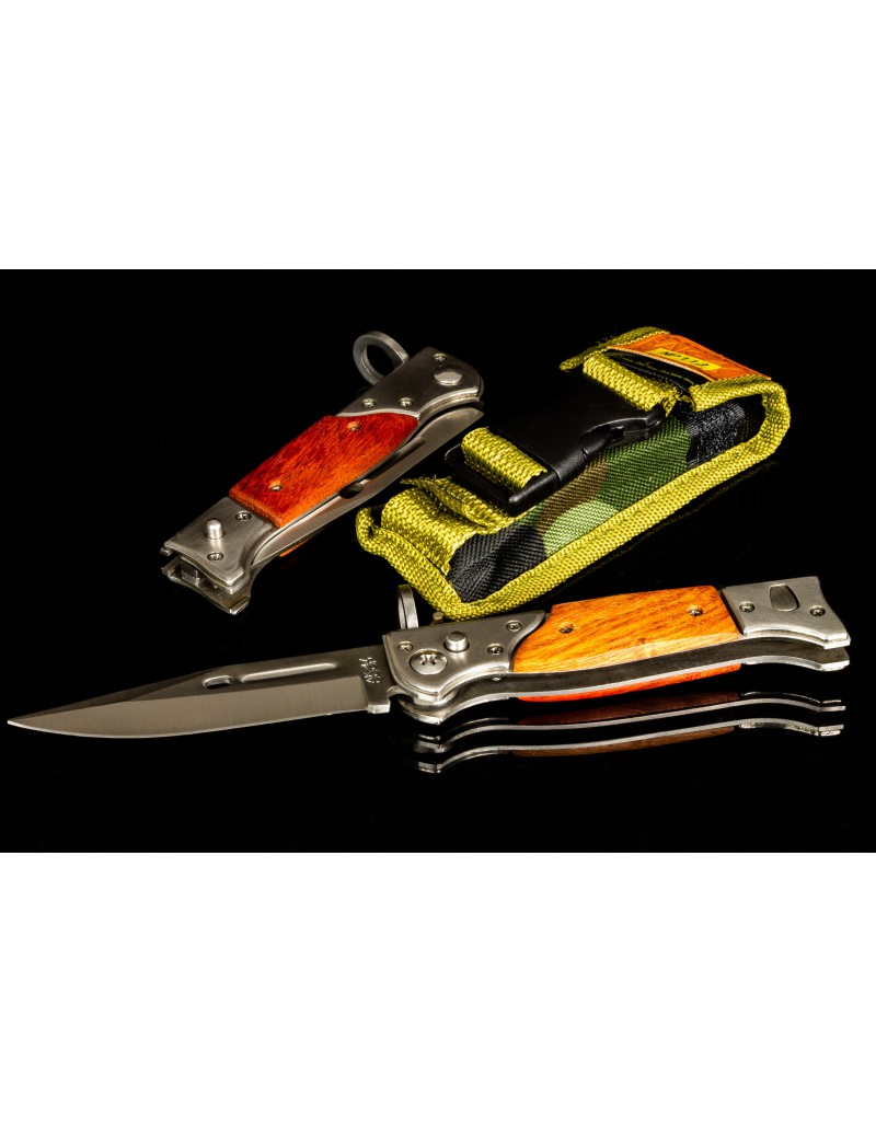 Hunting tourist folding knife AK-47 CCCP - NP112