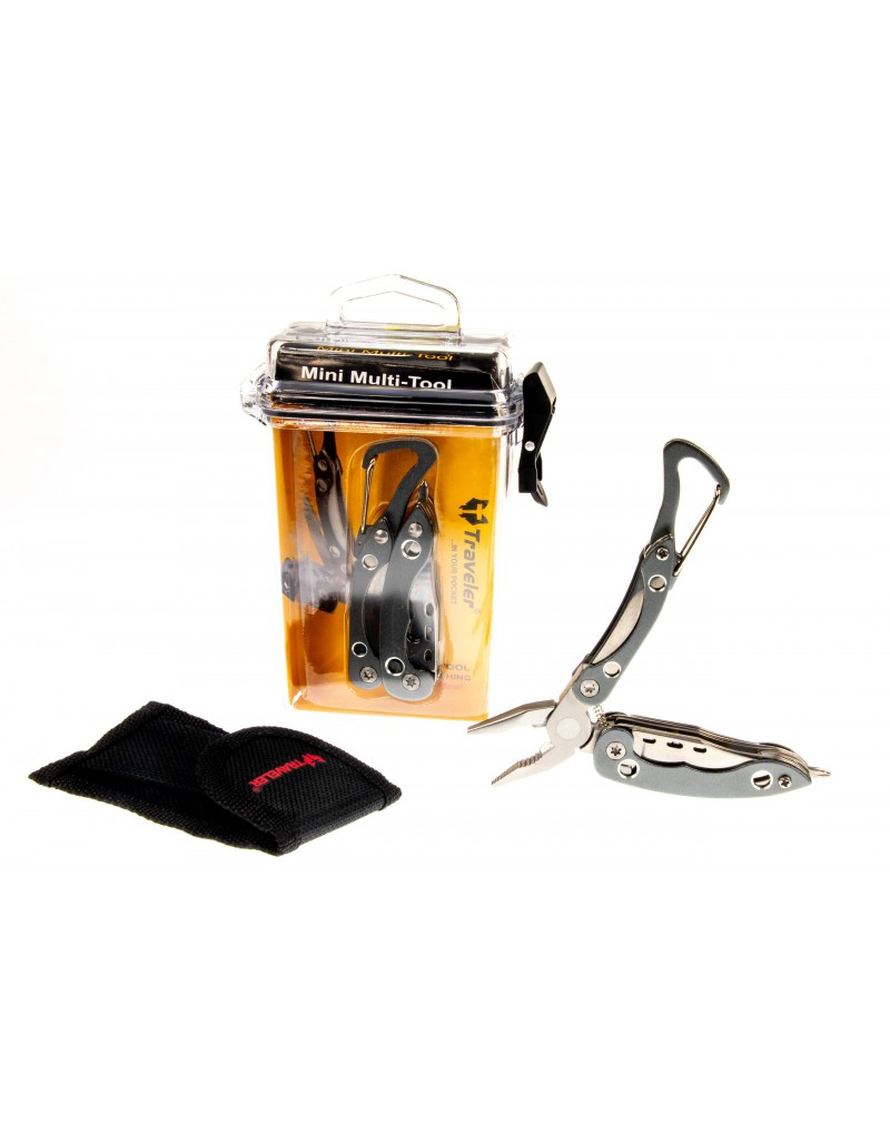 Tourist folding knife Multitool Traveler 7 in 1 - NM019