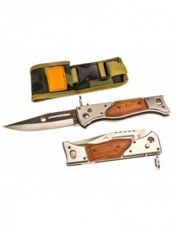 Hunting tourist folding knife AK-47 CCCP - NP120