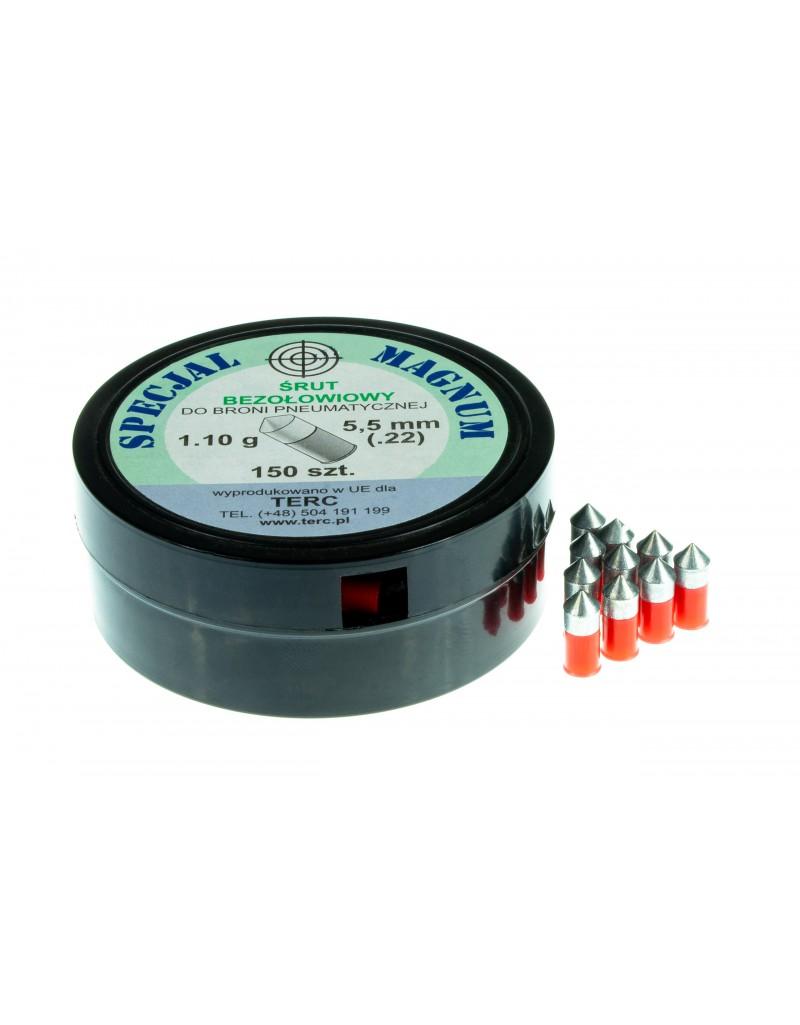 Śrut ekologiczny bezołowiowy SPECJAL MAGNUM kal. 5,5 mm .22 (150 szt.) - BS017