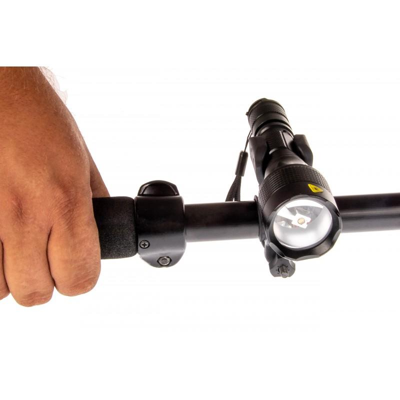 Uchwyt obrotowy montaż oświetlenia roweru przód mocny LRU01